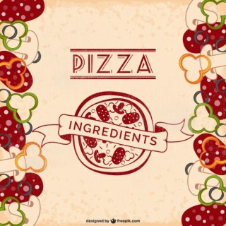 Pizza Ingredients Free Free Vector