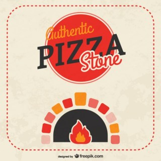 Pizza Stone Free Vector