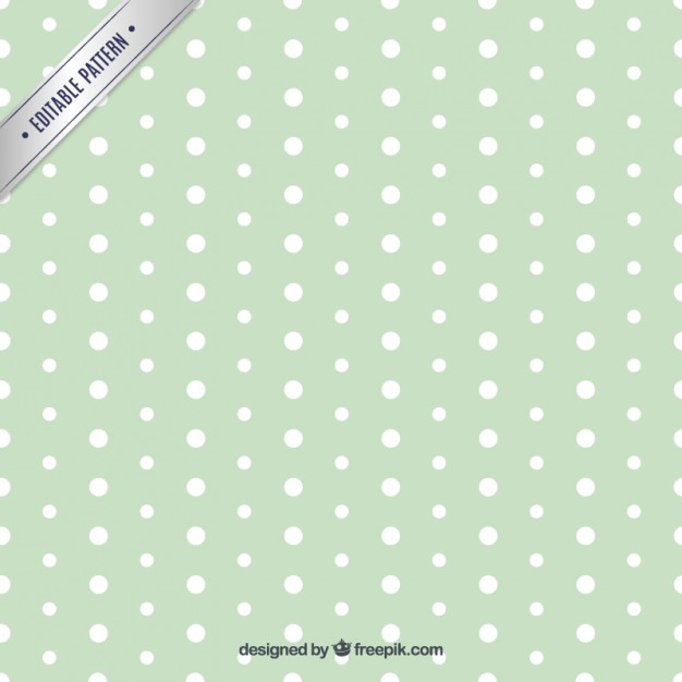 Polka Dot Seamless Pattern Free Vector