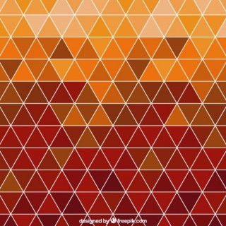 Polygonal Background in Autumnal Tones Free Vector