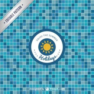 Pool Tile Free Pattern Free Vector