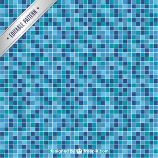 Pool Tile Seamless Pattern Free Vector