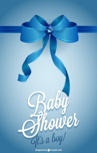 Printable Invitation Baby Shower Free Vector