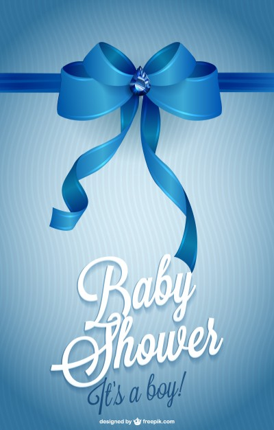 Printable Invitation Baby Shower Free Vector