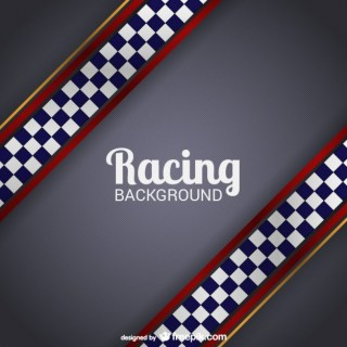 Racing Background Free Vector