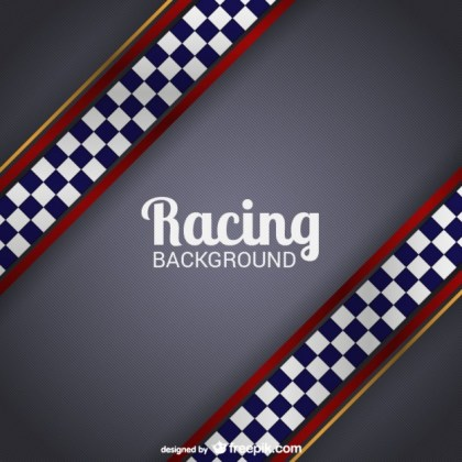 Racing Background Free Vector