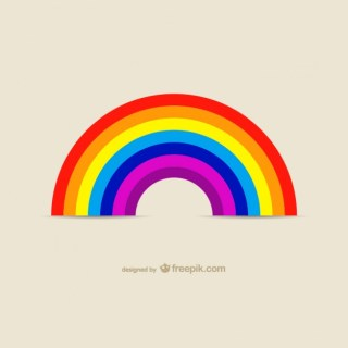 Rainbow Icon Images Free Vector