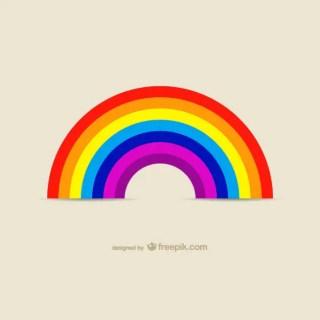 Rainbow Icon Images Free Vector