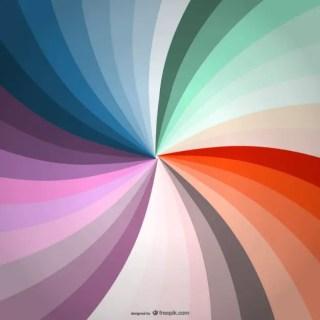 Rainbow Swirl Wallpaper Free Vector