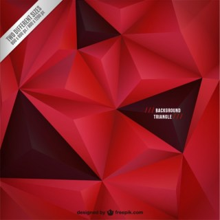 Red and Black Background with Triangles Free Vector