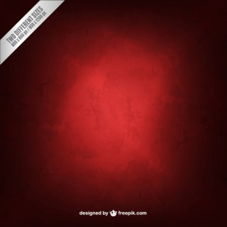 Red Background in Grungy Style Free Vector
