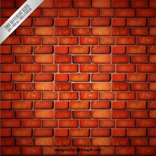 Red Brick Wall Background Free Vector