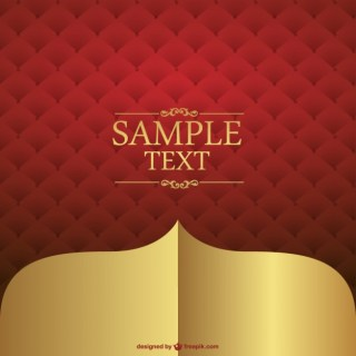 Red Leather Background Design Free Vector