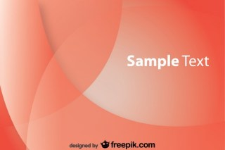 Red Wavy Modern Background Free Vector
