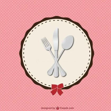Restaurant Retro Menu Illustration Free Vector