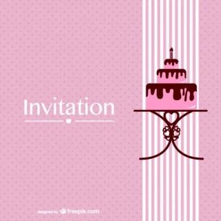 Retro Chocolate Cake Design Free Free Vector