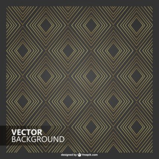 Retro Diamond Pattern Free Vector