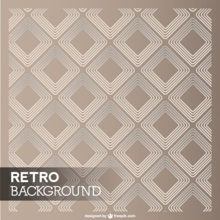 Retro Diamond Template Free Vector