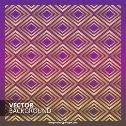 Retro Elegant Diamond Design Free Vector