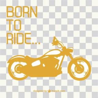 Retro Motorcycle Ride Free Vector
