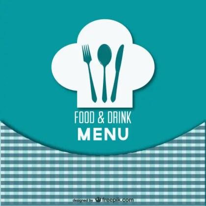 Retro Style Restaurant Menu Free Vector
