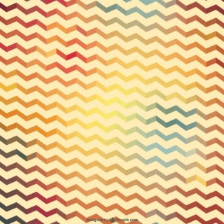 Retro Zig Zag Pattern Free Vector