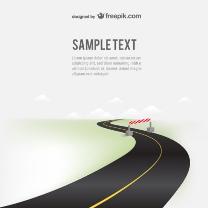 Road Free Illustration Free Vector