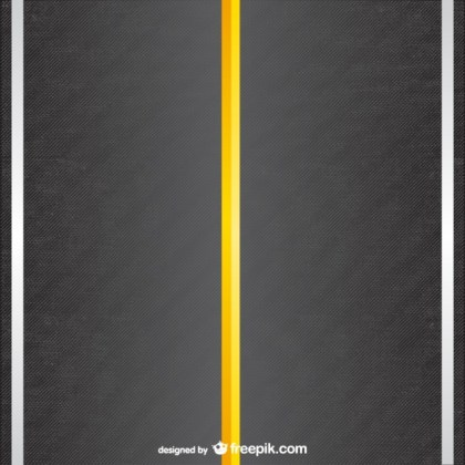 Road Template Free Vector