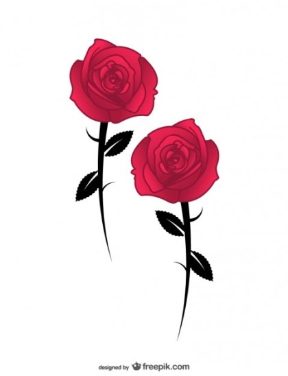 Rose Ai Free Vector