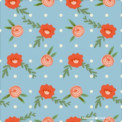 Roses Background Art Free Vector