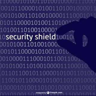 Security Shield Concept Free Vector