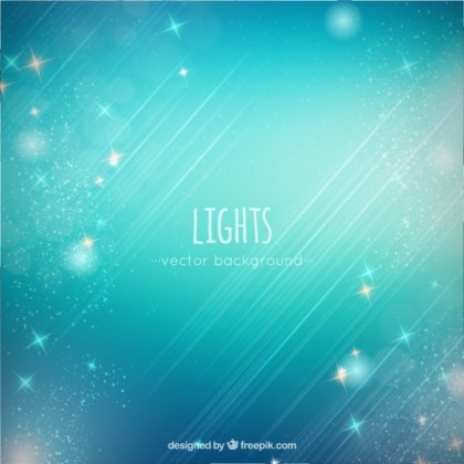 Shining Stars Background Free Vector