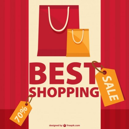 Shopping Sale Graphic Free Vector