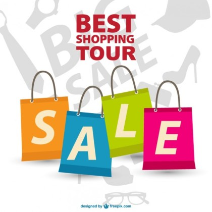 Shopping Tour Free Free Vector