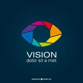 Shutter Eye Logo Free Vector