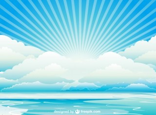 Skyscape Design Free Vector