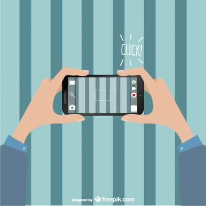 Smartphone Camera Free Download Free Vector
