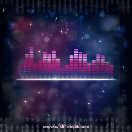 Sound Equalizer Free Vector