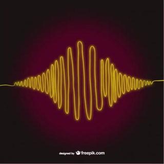 Sound Wave Art Free Vector