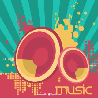 Speakers Music Free Vector