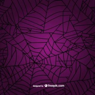 Spider Web Background Free Vector