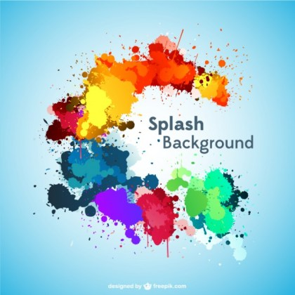 Splash Background Free Download Free Vector