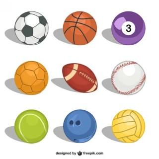 Sport Balls Free Free Vector