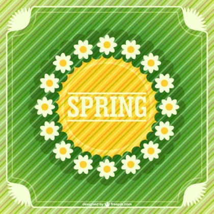 Spring Flowers Free Graphic Free Vector