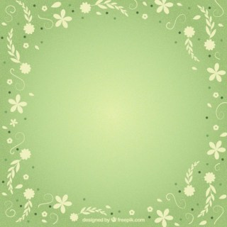 Spring Frame with Flowers Free Vector