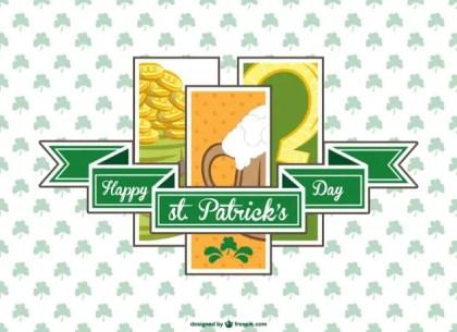 St Patrick's Free Vector