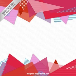 Stationery Paper Triangles Background Free Vector