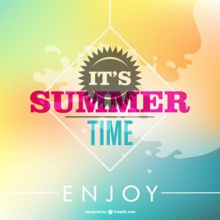 Summer Abstract Free Background Free Vector