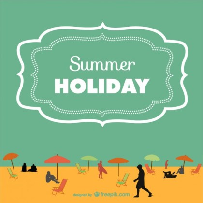 Summer Art Free Free Vector