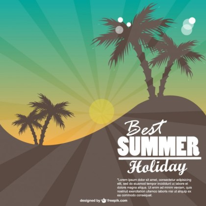 Summer Free Download Free Vector